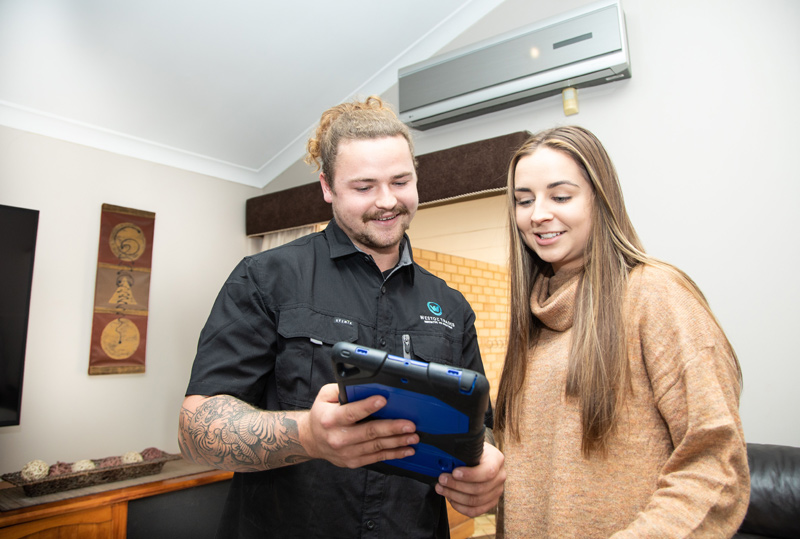 New and Established Home Builds Air Conditioning