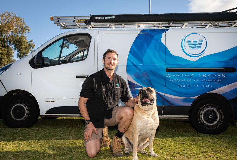 About WestOz Trades, your Perth Air Conditioning and refrigeratiuon specialists.